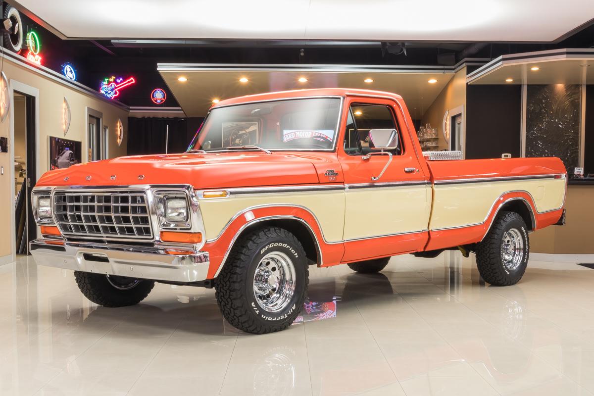 1979 ford f150 xlt pickup for sale 62859 mcg for Garage ford orange