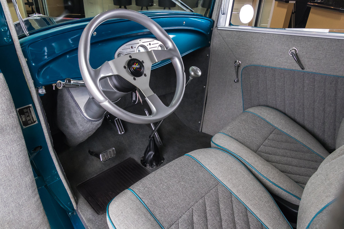 1932 ford tudor sedan street rod for sale 65441 mcg. Black Bedroom Furniture Sets. Home Design Ideas