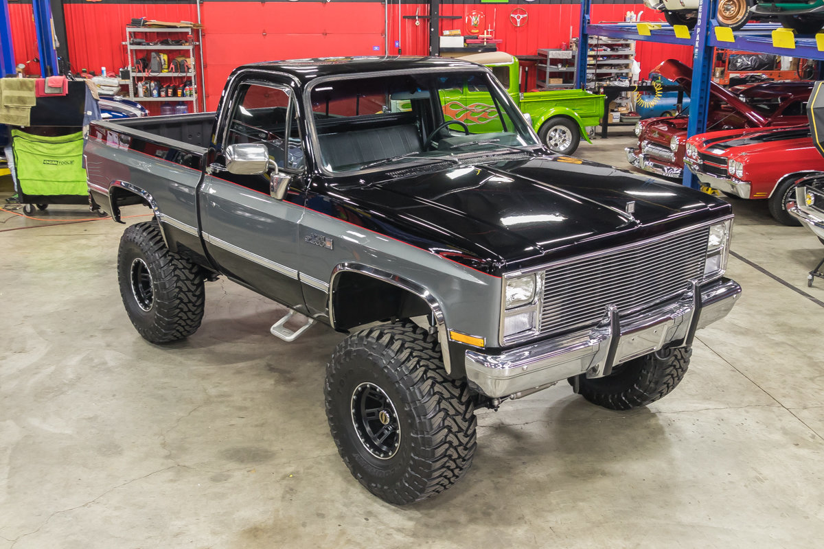 1987 Gmc Sierra 4x4 Pickup For Sale  68042