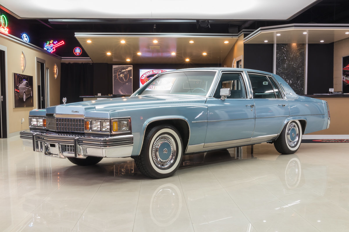 1978 Cadillac Fleetwood Classic Cars For Sale Michigan Muscle Sedan Deville 4 Door