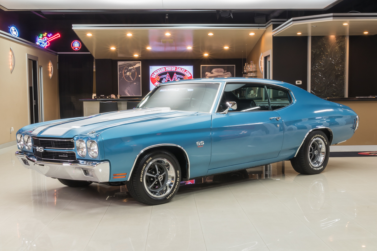 1970 Chevrolet Chevelle Classic Cars For Sale Michigan Muscle 70 Alternator Wiring Diagram 516491 Blue 6798 1