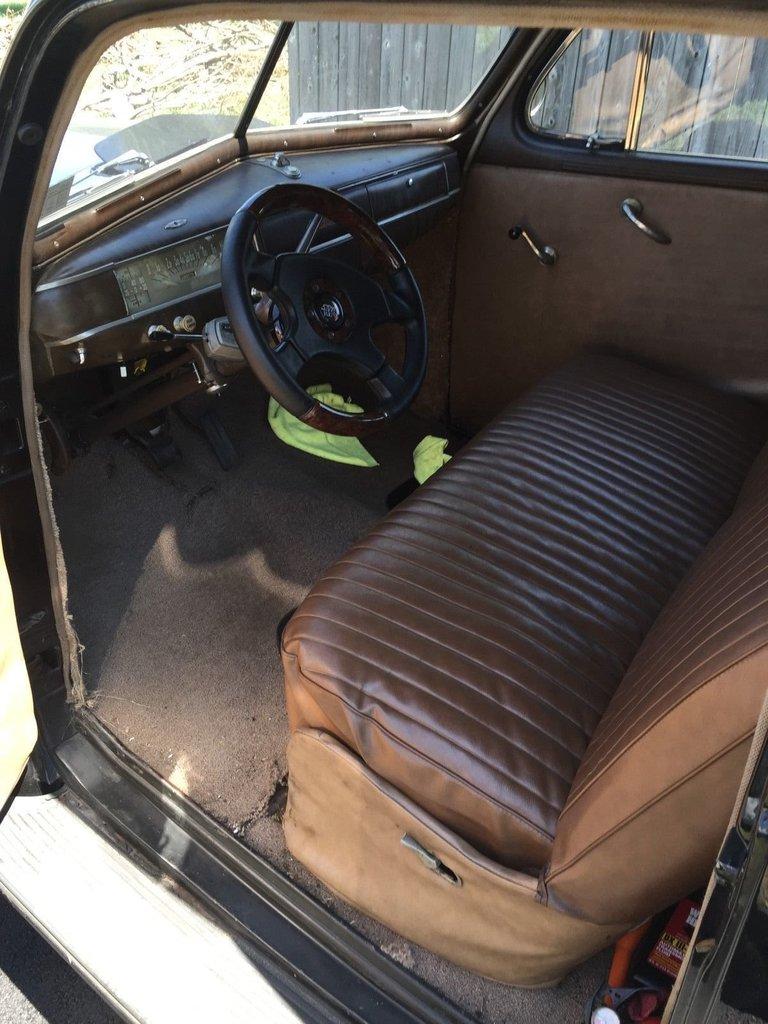 1941 Plymouth Deluxe 4 Door Sedan