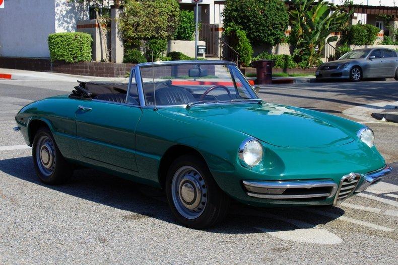 Alfa Romeo Duetto Spider For Sale MCG - 1967 alfa romeo duetto spider for sale