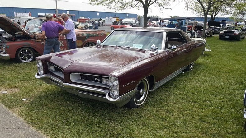 1966 pontiac grand prix for sale 75103 mcg. Black Bedroom Furniture Sets. Home Design Ideas