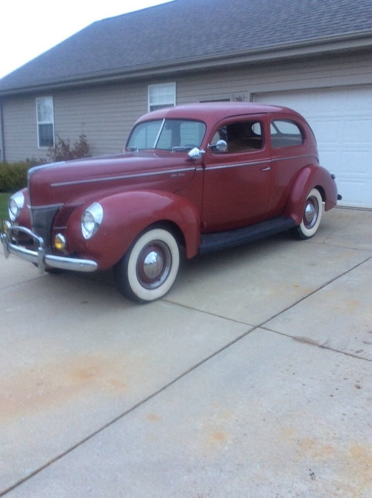 1940 ford deluxe 2 door my classic garage for 1940 ford deluxe two door business coupe