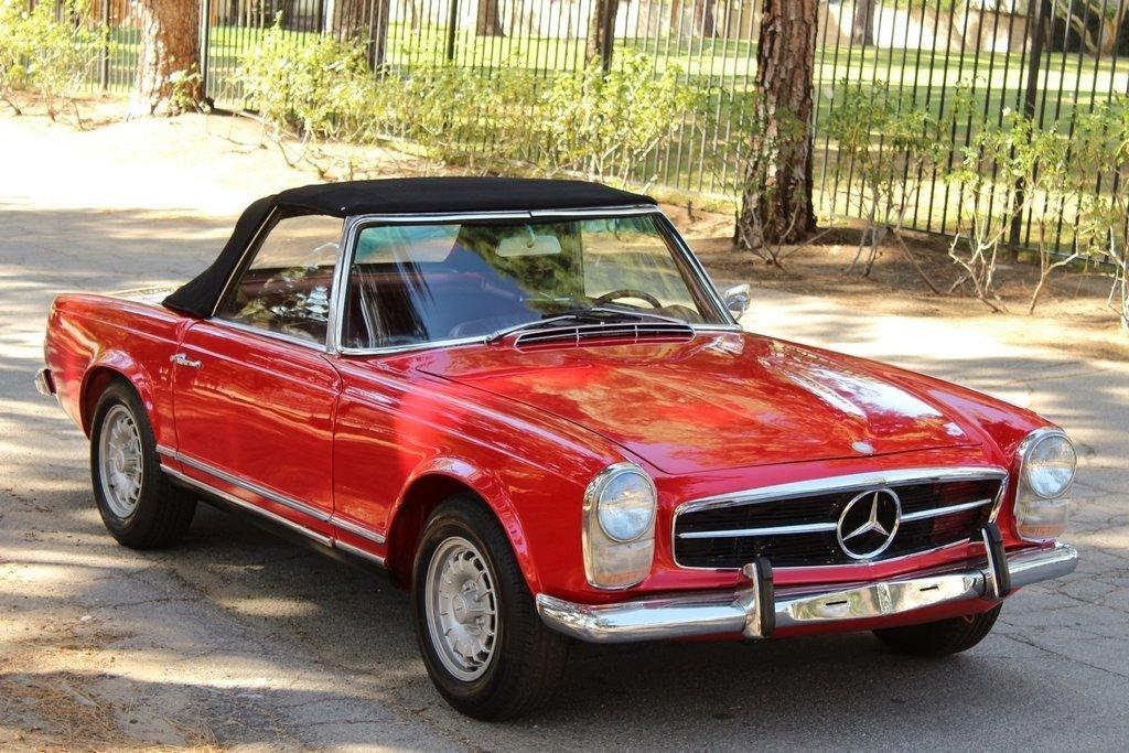 1965 mercedes benz 230sl pagoda for sale 82120 mcg for 1965 mercedes benz