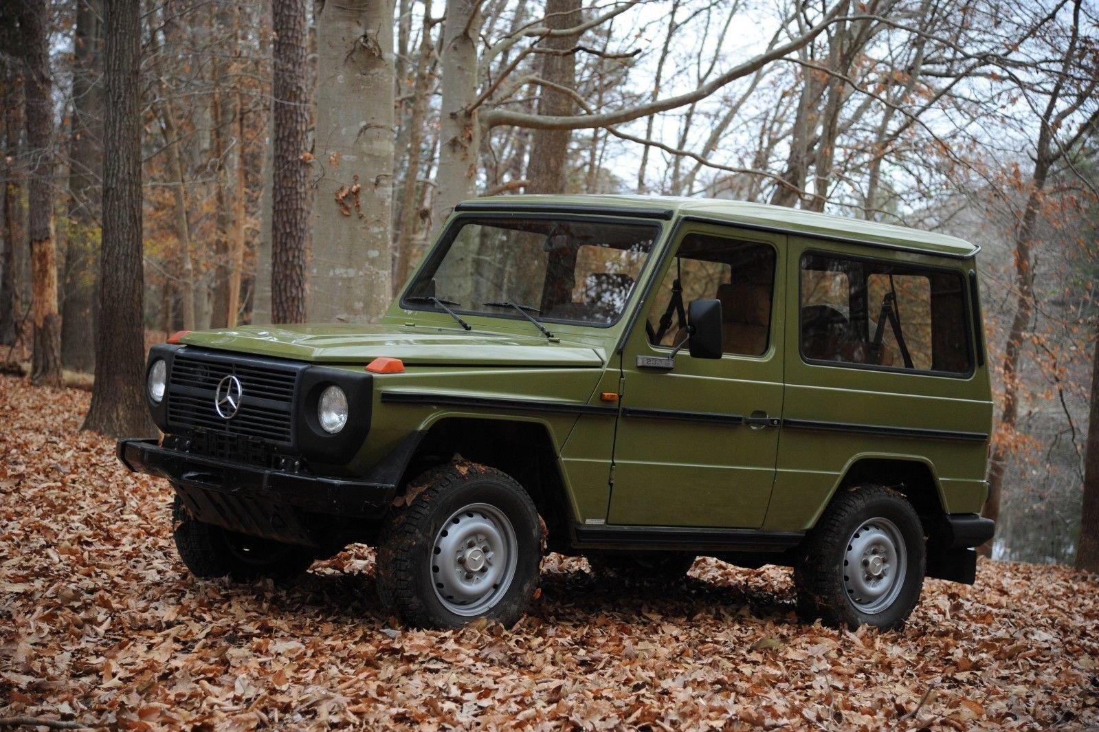 1980 mercedes benz g 230 for Mercedes benz 230
