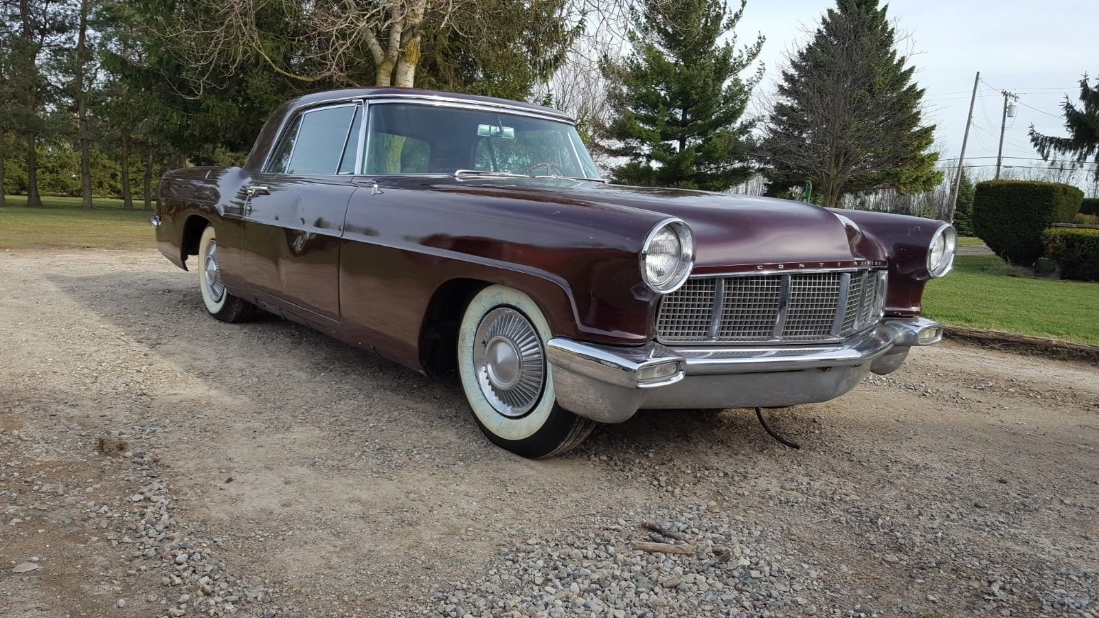 1956 lincoln continental mark 2 for sale 84765 mcg. Black Bedroom Furniture Sets. Home Design Ideas