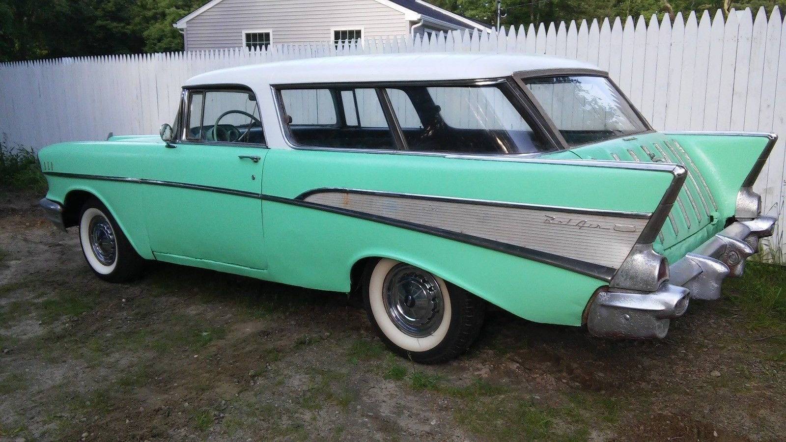 1957 Chevrolet Nomad For Sale 94842 Mcg Chevy Station Wagon