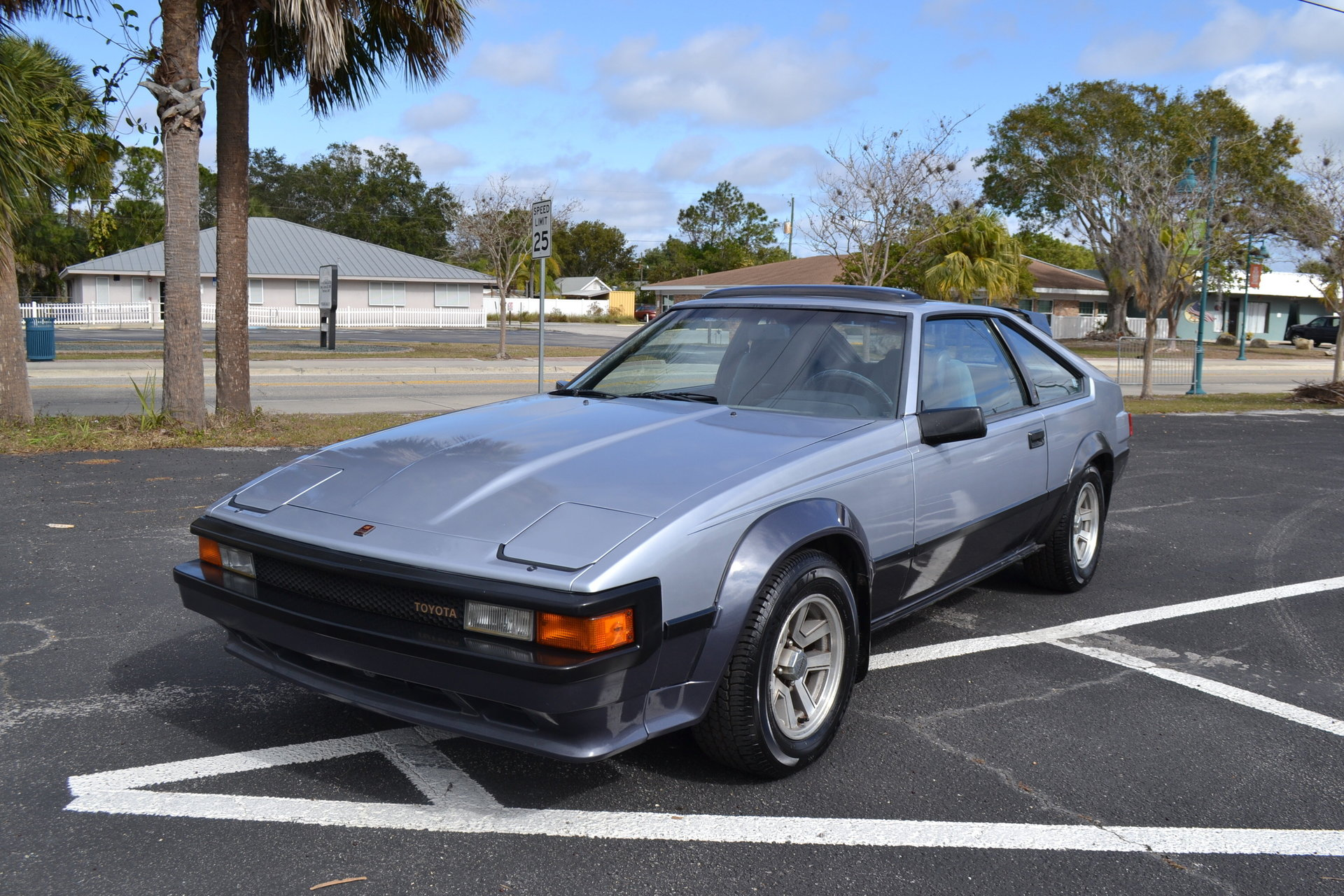 1984 toyota celica supra for sale 77799 mcg. Black Bedroom Furniture Sets. Home Design Ideas