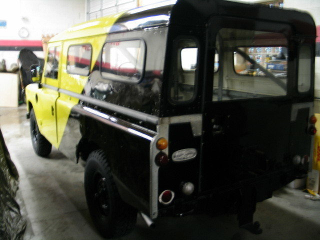 1981 Land Rover 109 OUTBACK WAGON