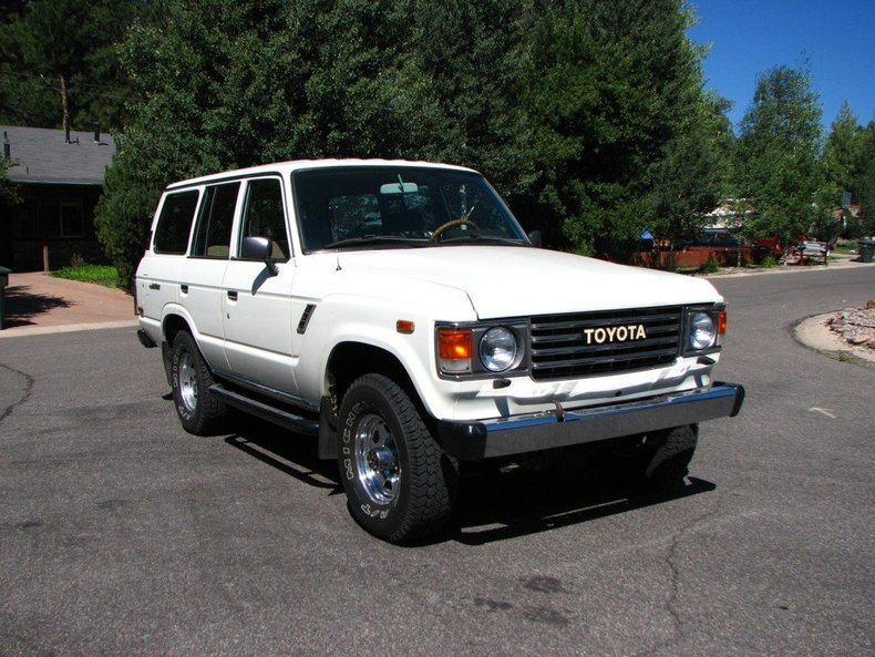 1984 GREAT YEAR TOYOTA LHD FJ60 4 DOOR