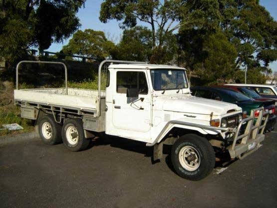 1985 LAST ONE TOYOTA CUSTOM FJ45 SIX WHEEL