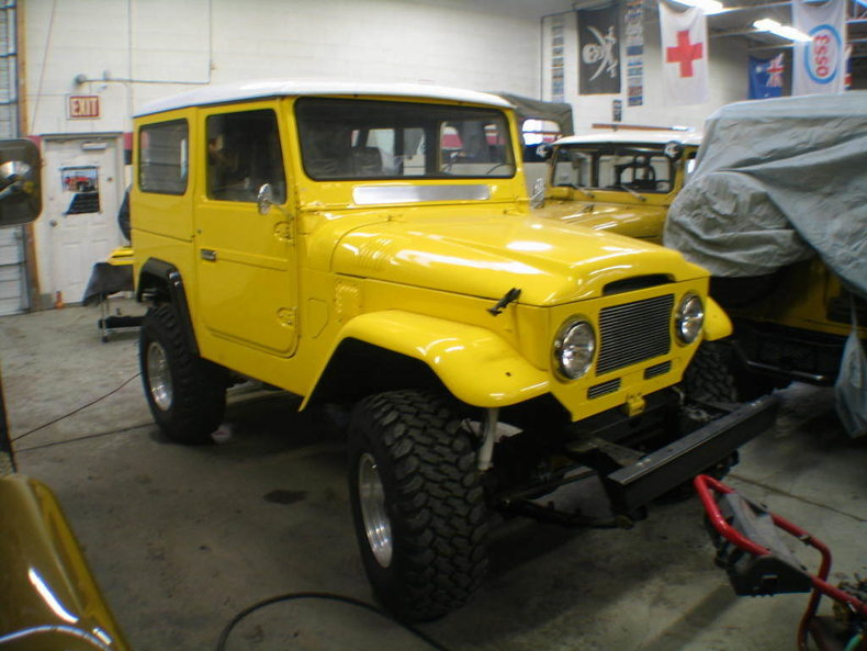 1978/65 BTB TOYOTA FUEL INJECTED V8 FJ40 SHOW CRUISER