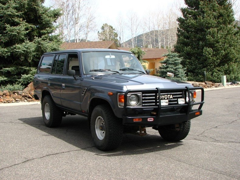 1985 TOYOTA CUSTOM FJ60 4 DOOR WAGON