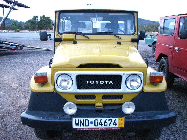 1980 Toyota FJ40 STOCK SWISS