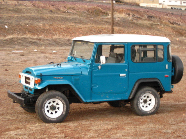 1980 TOYOTA LHD FJ40