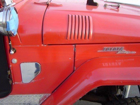 1965 TOYOTA LHD FJ40 CUSTOM V8 4 SPD