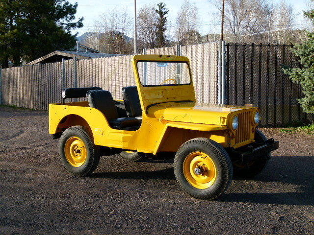1951 WILLYS JEEP M38 CONVERTIBLE BODY OFF RESTORATION