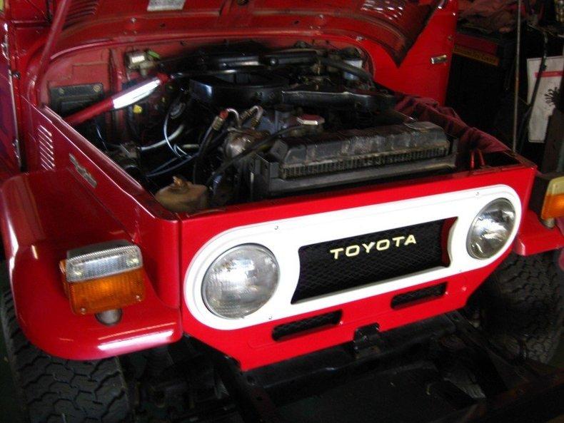 1975 TOYOTA LHD STOCK FJ40 EXCELLENT