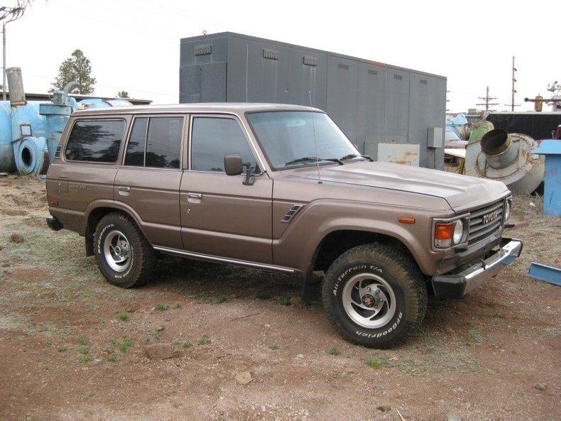 1987 Toyota FJ60 4 DOOR 4 SPEED