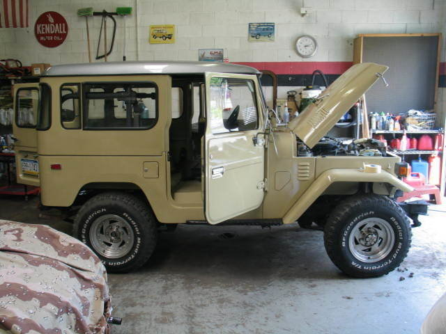 1981 TOYOTA LHD ALLOY BODY OFF RESTORATION FJ40