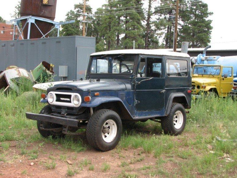 1974 TOYOTA LHD FJ40 PROJECT