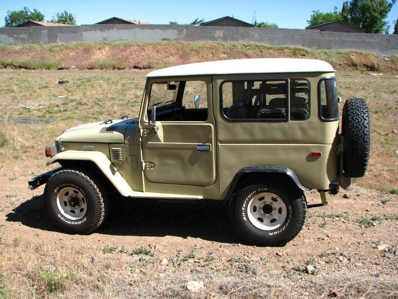 1981 TOYOTA LHD LATE MODEL FJ40 POWER STEERING ORIGINAL