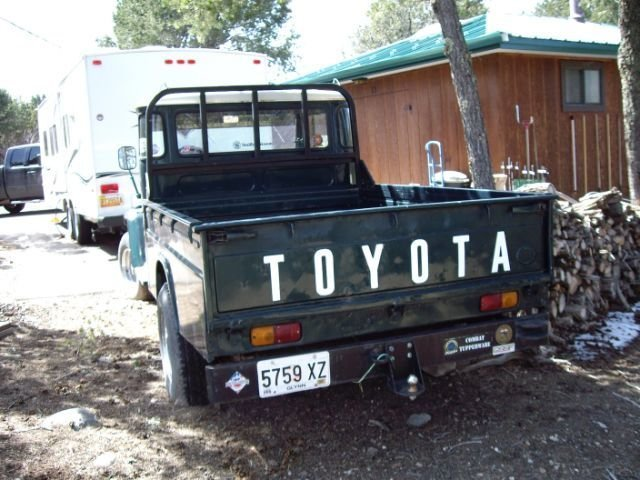 1966 Toyota FJ45 PICK-UP V8