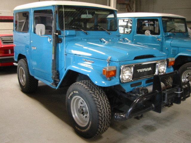 1981 & 1977 RESTORED TOYOTA FJ40