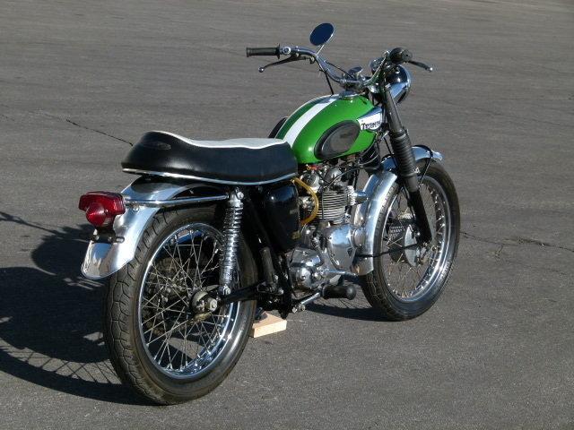 1966 Triumph T100C TROPHY SPECIAL