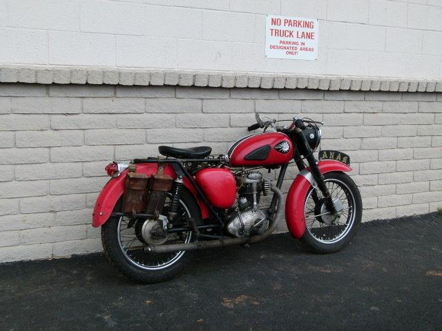 1962 BSA C15 250CC