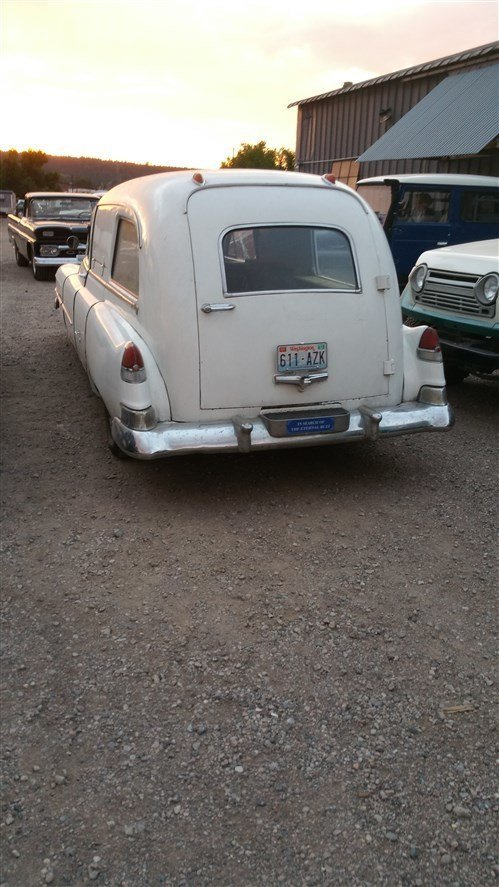 1951 Cadillac AMBULANCE RUST FREE COMPLETE INTACT