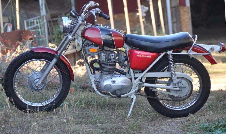 1971 BSA TRAIL BLAZER