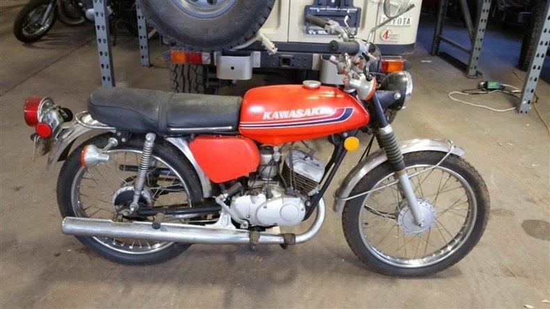 1973 Kawasaki G3 SS90cc