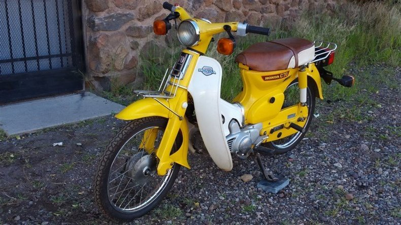 Honda Dealership Az >> 1980 Honda C70 Passport Deluxe for sale #54709 | MCG