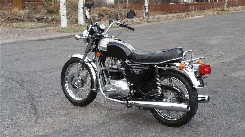 1982 Triumph Bonneville 750cc