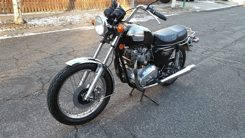 1979 TRUIMPH 750cc BONNEVILLE NEAR MINT