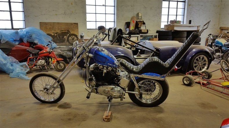 1962 Harley Davidson XLCH Psychedelic Chopper
