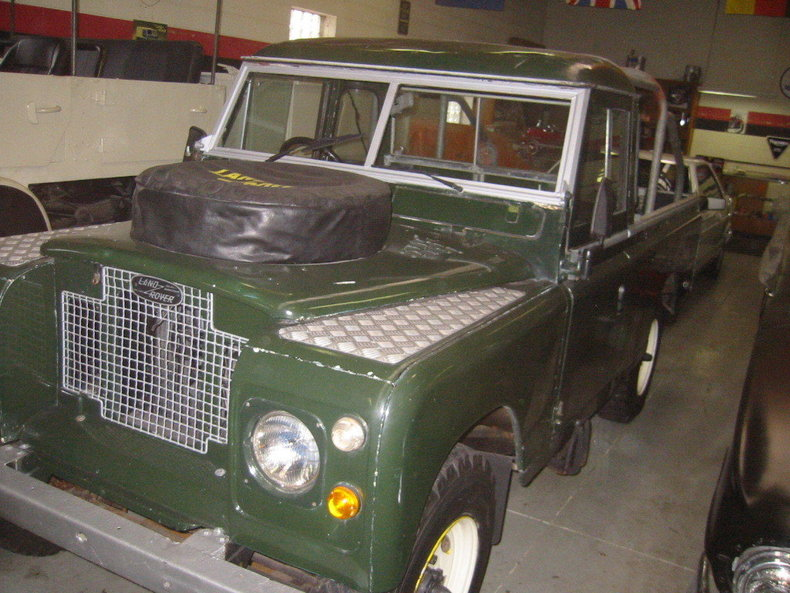 1969 Land Rover UPGRADED V8 109 SERIES IIa