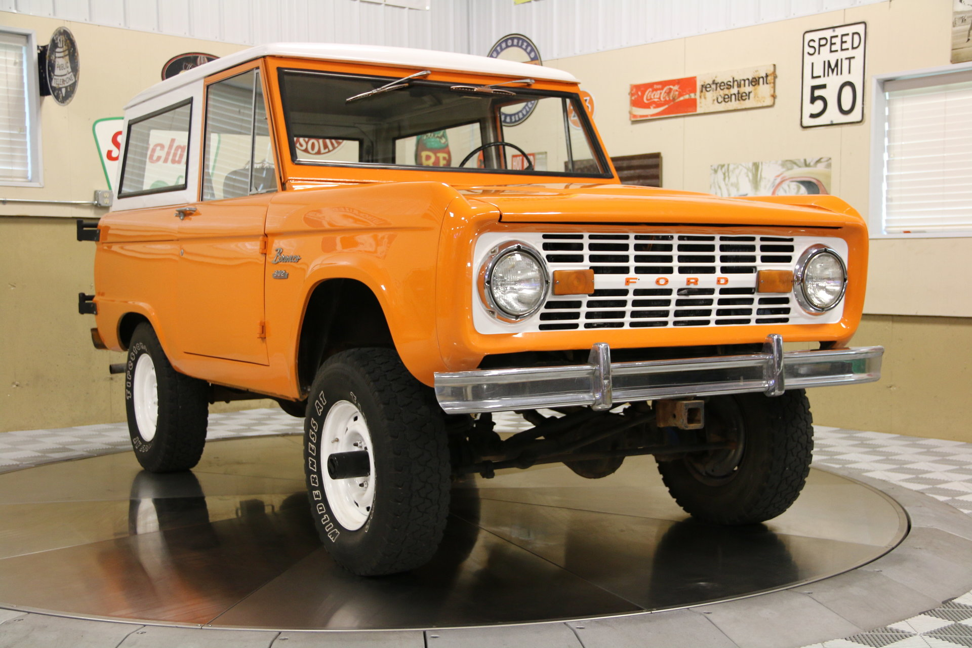 1968 Ford Bronco 4wd Vintage Motorcars Paint Jobs
