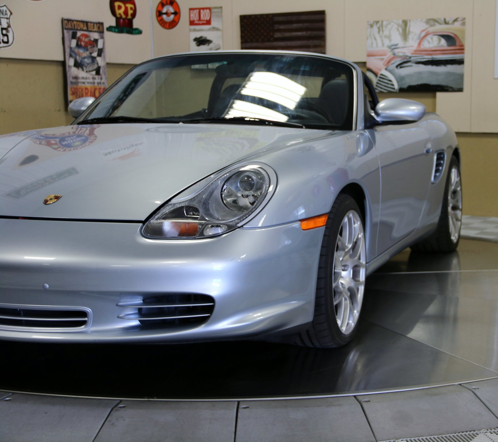 Porsche Boxster Engine Options: 2003 Porsche Boxster