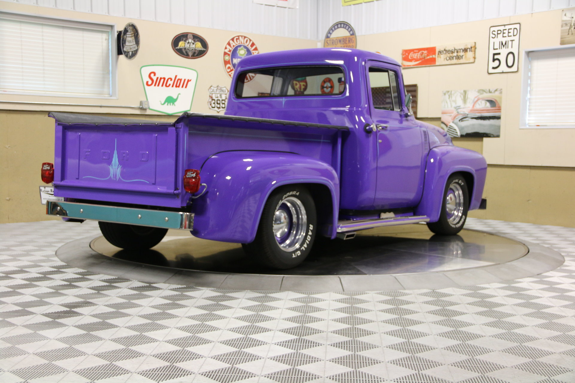 1956 ford f100 for sale 90787 mcg for Garage ford denney 90