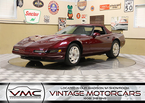 1016849e5fe3f hd 1993 chevrolet corvette convertible 40th anniversary edition