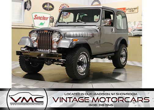 106501b42f943 hd 1986 jeep cj 7 renegade 4x4