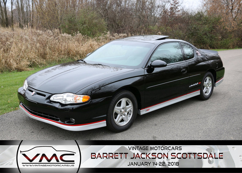 2002 Chevrolet Monte Carlo SS Dale Earnhardt Edition