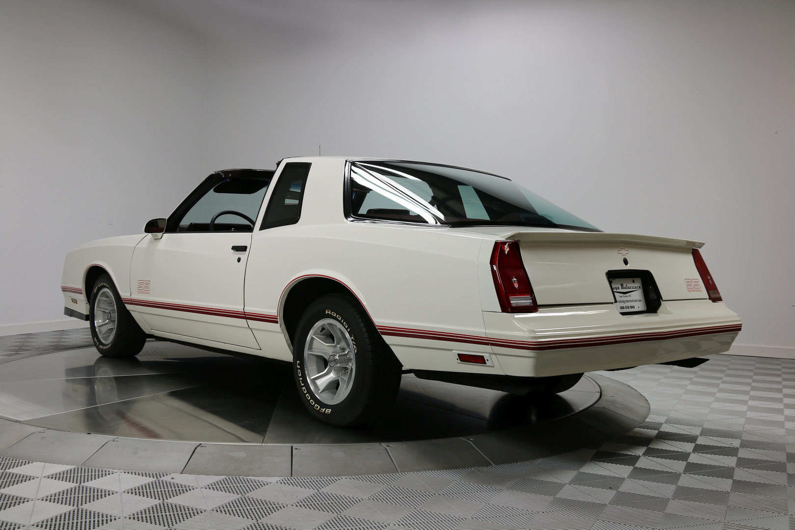 1987 chevrolet monte carlo ss aero coupe vintage motorcars. Black Bedroom Furniture Sets. Home Design Ideas