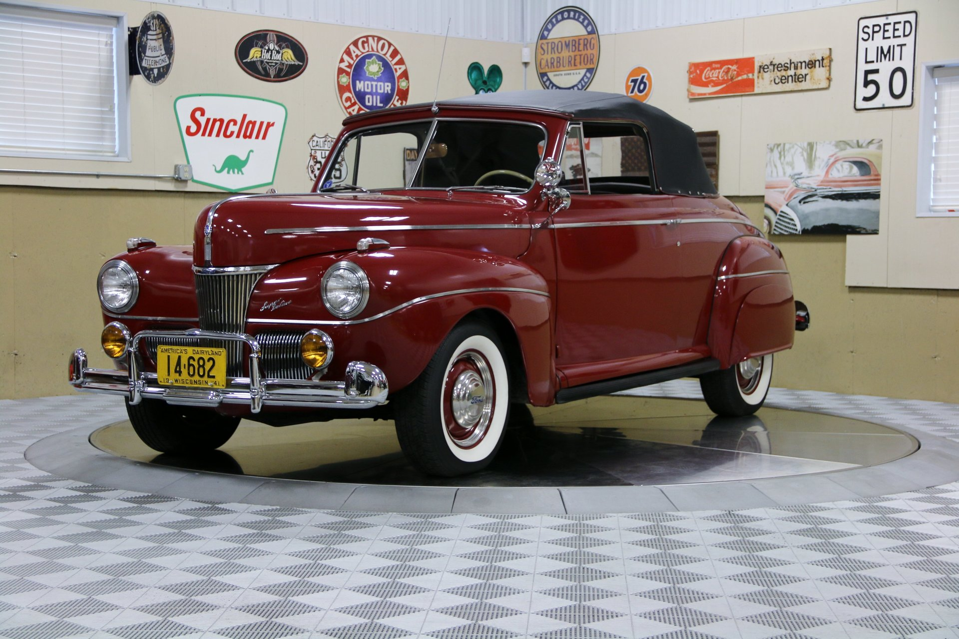 1941 Ford Super Deluxe Vintage Motorcars Plymouth Special Coupe