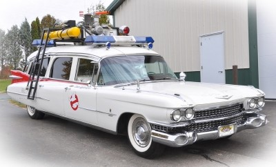 1959 Cadillac Ecto 1 Ghostbusters