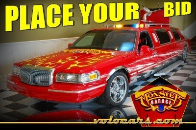 1996 Lincoln Firetruck Limo